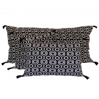 Coussin lin/coton UBUD 40X60 Harmony Textile