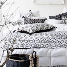 Coussin lin/coton UBUD 45X45 - Harmony Textile