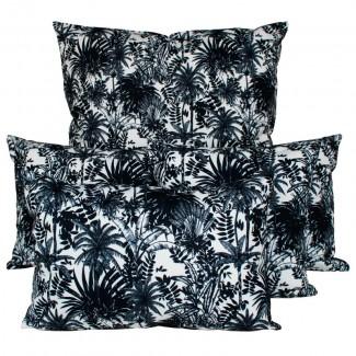 COUSSIN D'EXTERIEUR SANOA BLANC Harmony Textile