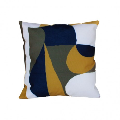COUSSIN D'EXTERIEUR TULUM KAKI - Harmony Textile