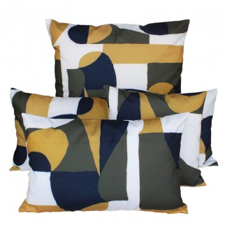 COUSSIN D'EXTERIEUR TULUM KAKI Harmony Textile