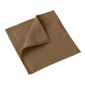 Serviette de table lin NAIS 41X41 Harmony Textile