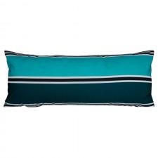 COUSSIN D'EXTERIEUR SWAN BLEU DE PRUSSE - Harmony Textile