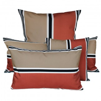 COUSSIN D'EXTERIEUR SWAN BRICK Harmony Textile