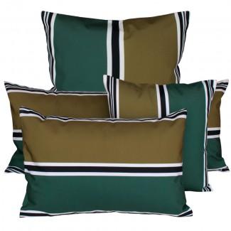 COUSSIN D'EXTERIEUR SWAN BRONZE Harmony Textile