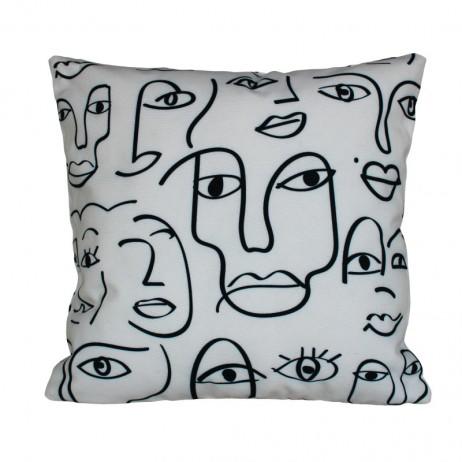 COUSSIN D'EXTERIEUR DAKHLA IVOIRE - Harmony Textile