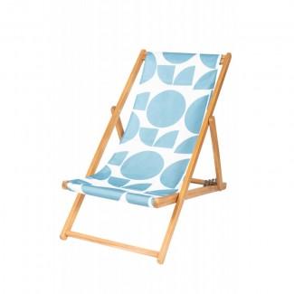 HOUSSE DE CHILIENNE 43X144 OUVEA AQUA SEA Harmony Textile