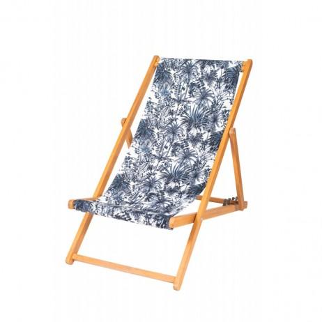 HOUSSE DE CHILIENNE 43X144 SANOA BLANC - Harmony Textile