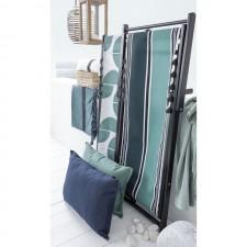 HOUSSE DE CHILIENNE 43X144 SWAN BLEU DE PRUSSE - Harmony Textile