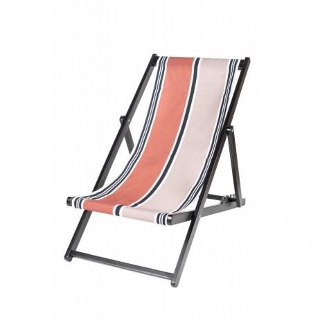 HOUSSE DE CHILIENNE 43X144 SWAN BRICK - Harmony Textile