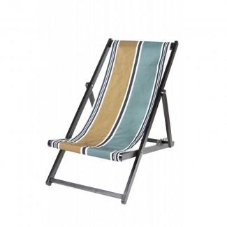 HOUSSE DE CHILIENNE 43X144 SWAN BRONZE Harmony Textile