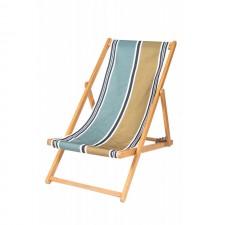 HOUSSE DE CHILIENNE 43X144 SWAN BRONZE - Harmony Textile