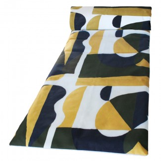 Matelas bain de soleil 70X190 TULUM KAKI Harmony Textile
