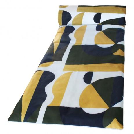 MATELAS DE BAIN DE SOLEIL 70X190 TULUM KAKI - Harmony Textile