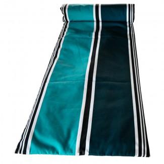Matelas bain de soleil 70X190 SWAN BLEU DE PRUSSE Harmony Textile