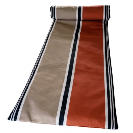 MATELAS DE BAIN DE SOLEIL 70X190 SWAN BRICK - Harmony Textile
