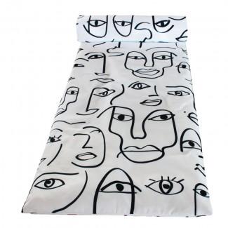 Matelas bain de soleil 70X190 DAKHLA IVOIRE Harmony Textile