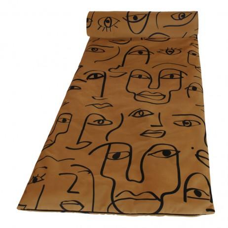 MATELAS DE BAIN DE SOLEIL 70X190 DAKHLA TABAC - Harmony Textile