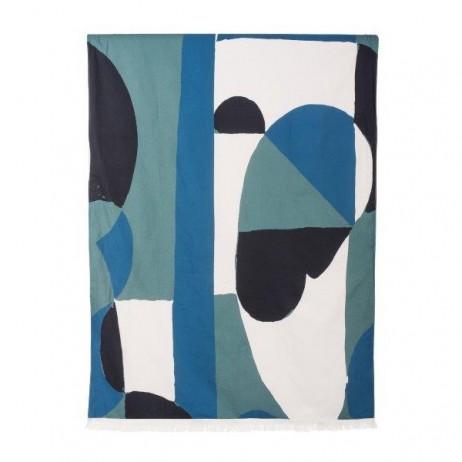 DRAP DE BAIN KIKOY WINWOOD CELADON 90X190 - Harmony Textile