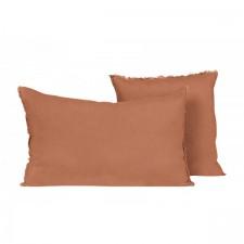 COUSSIN EN LIN 40X60 VITI BRICK - Harmony Textile
