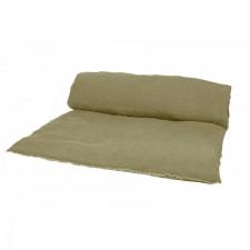 EDREDON EN LIN VITI 85X200 KAKI - Harmony Textile