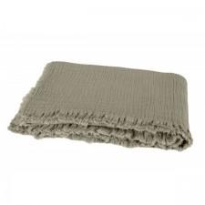 PLAID VANLY 130x190 KAKI - Harmony Textile