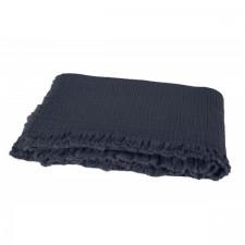 PLAID VANLY 130x190 DENIM - Harmony Textile