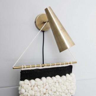 APPLIQUE WALL LAMP PRECISE BRASS LAITON 21CM