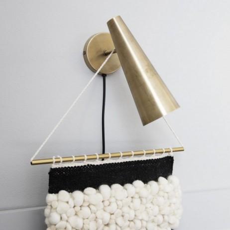 APPLIQUE WALL LAMP PRECISE BRASS LAITON 21CM - HOUSE DOCTOR