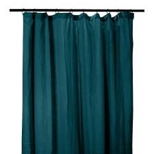 RIDEAUX COTON DILI 120X280 BLEU DE PRUSSE - Harmony Textile