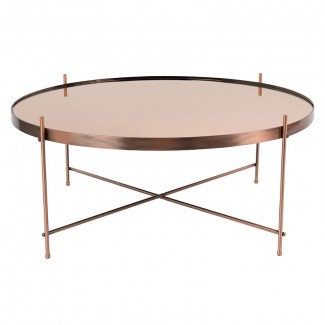 TABLE CUPID XXL COPPER 82.5X35