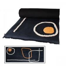 EDREDON TIKRI 85X200 NOIR - Harmony Textile