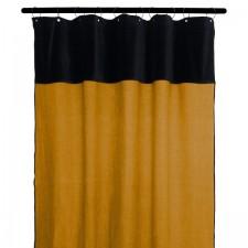 RIDEAUX MANSA 100% LIN LAVE 135X300 CHAMOIS - Harmony Textile