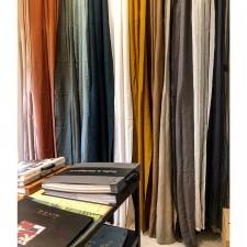 RIDEAUX MANSA 100% LIN LAVE 135X300 - Harmony Textile