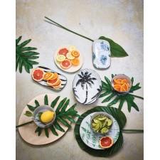 BOL PORCELAINE JUNGLE PALMS - HK LIVING