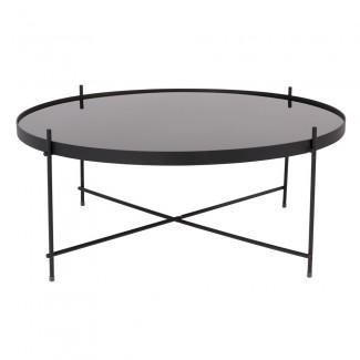 TABLE CUPID XXL BLACK DIAM.82.5 H.35CM Zuiver