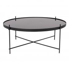 TABLE CUPID XXL BLACK DIAM.82.5 H.35CM