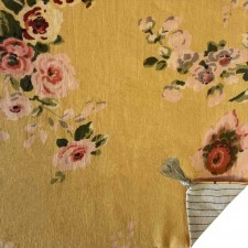 BANGALORE ETE COUSSIN OCRE 45X45 - indian song