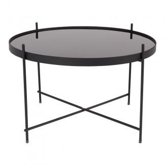 TABLE CUPID LARGE BLACK DIAM.62.5 H.40CM Zuiver
