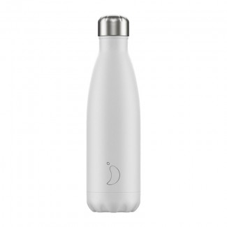 Bouteille isotherme inox 500ML MONOCHROME/WHITE CHILLY'S