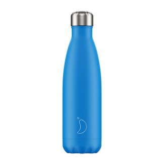 Bouteille isotherme inox 500ML NEON BLUE CHILLY'S
