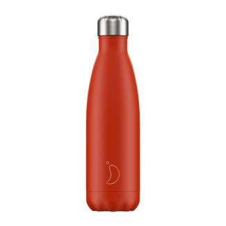 Bouteille isotherme inox 500ML NEON RED CHILLY'S