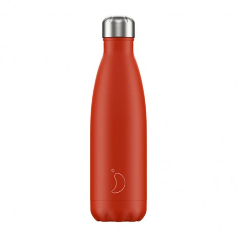 BOUTEILLE CHILLY'S 500ML NEON RED - CHILLY'S