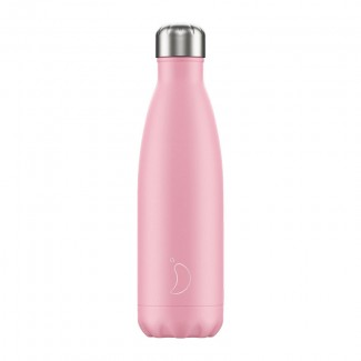 Bouteille isotherme inox 500ML PASTEL PINK CHILLY'S