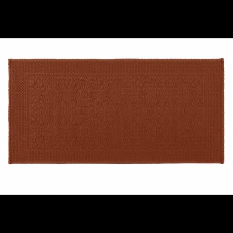 TAPIS DE BAIN KYMI BRICK 55X110 - Harmony Textile