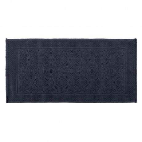 TAPIS DE BAIN KYMI DENIM 55X110 - Harmony Textile