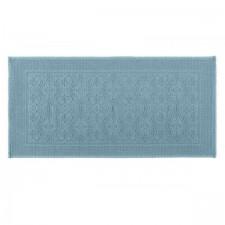 Tapis de bain bleu stone KYMI 55X110