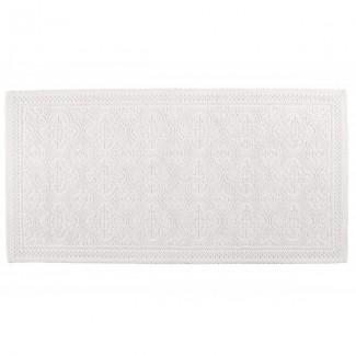 Tapis de bain craie KYMI 55X110 Harmony Textile