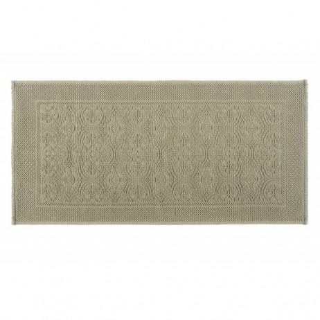 TAPIS DE BAIN KYMI KAKI 55X110 - Harmony Textile