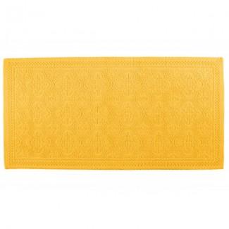 Tapis de bain safran KYMI 55X110 Harmony Textile